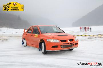 dunlop winter rally vali porcisteanu