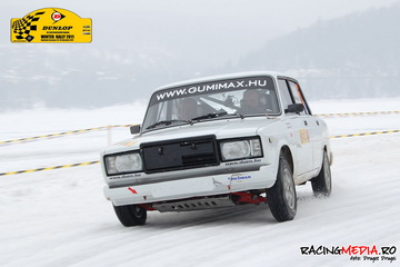 lada winter rally drift